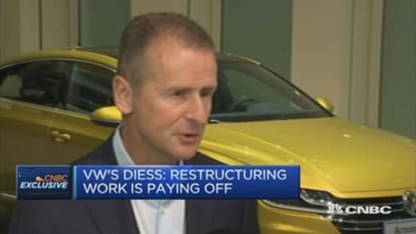 VW's Diess: Have to prepare for difficult years ahead