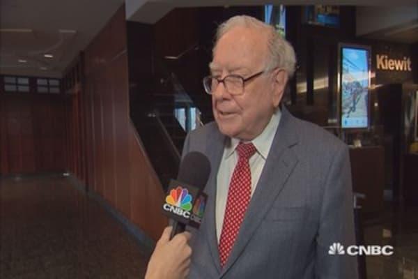 Buffett on iPhone sales