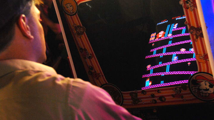 Early arcade game Donkey Kong