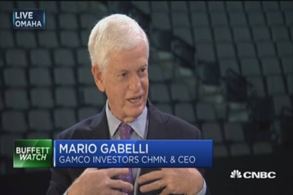 Mario Gabelli's three hot live entertainment bets