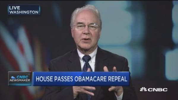 HHS's Tom Price: We'd love Dems to assist on health care fix
