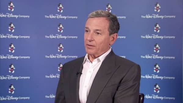 Disney CEO is 'clearly intrigued' by running for president
