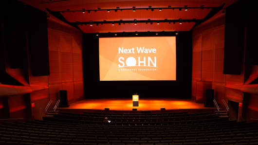 The SOHN Next Wave Conference stage in New York in 2016.