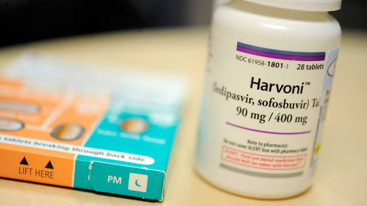 Harvoni is one of the new breakthrough drugs for Hepatitis C.
