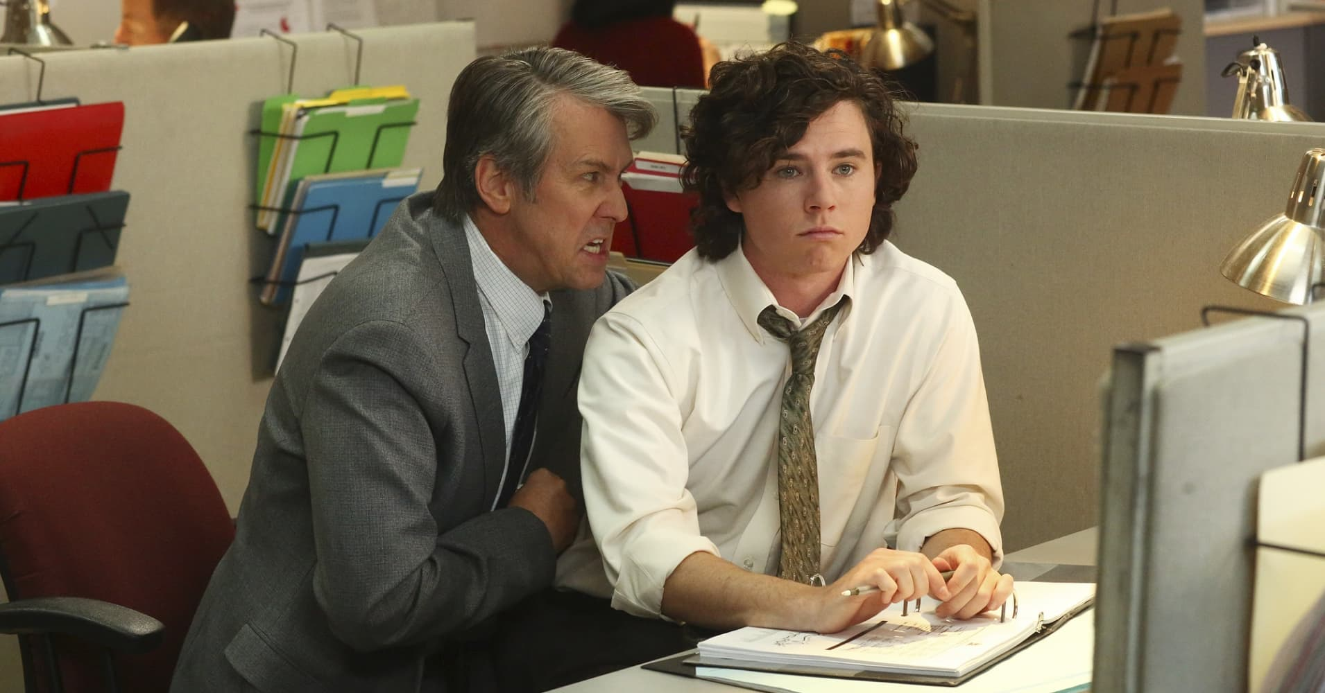 Alan Ruck and Charlie McDermott on ABC's 'The Middle.'