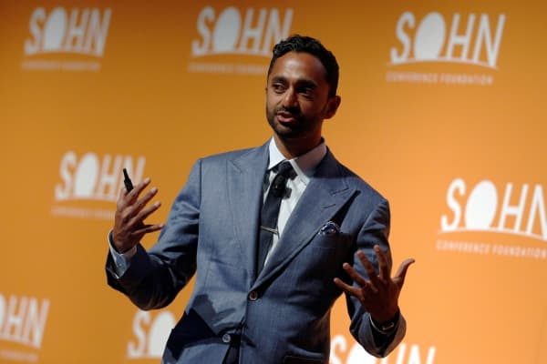 Chamath Palihapitiya, Founder and CEO of Social Capital LP, speaks at the Sohn Investment Conference in New York City, U.S. May 4, 2016.