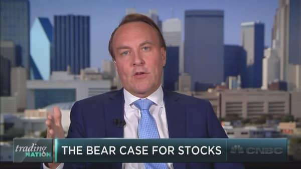 David Tice makes the bear case on the market