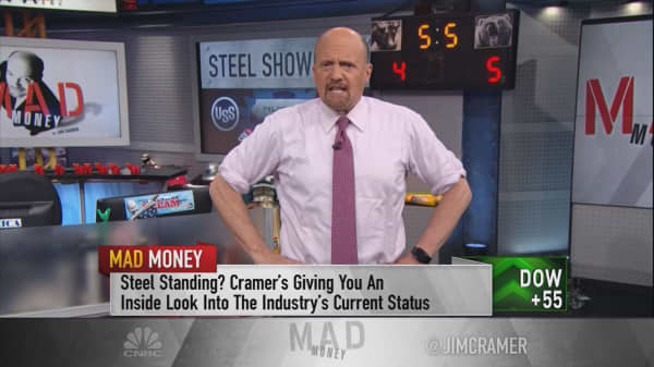 Cramer vets the best and the worst of the US steel producers