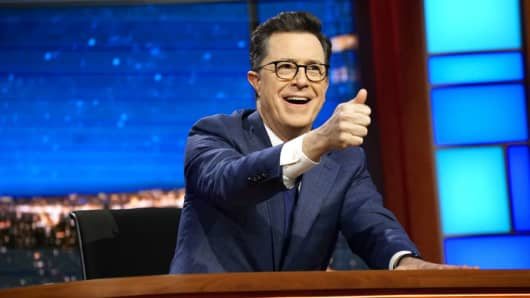 The Late Show with Stephen Colbert which aired Tuesday March 27, 2017.