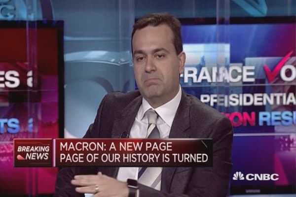 Macron's biggest challenges, according to 2 strategists