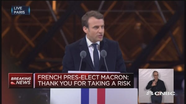 I will not disappoint you: Macron