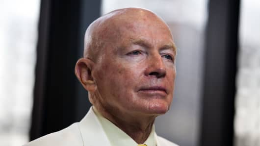 Mark Mobius, executive chairman of Templeton Asset Management's Emerging Markets Group