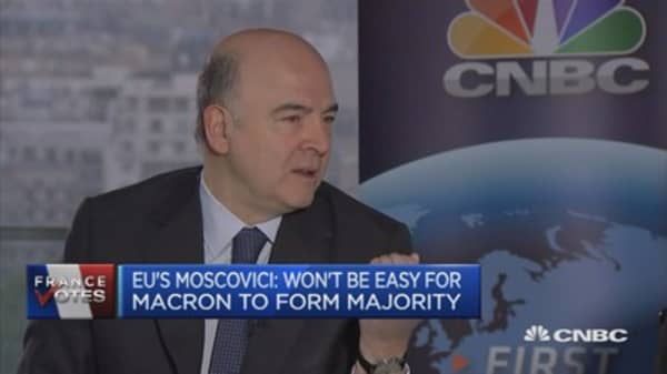 EU's Moscovici: Need an orderly, clean Brexit