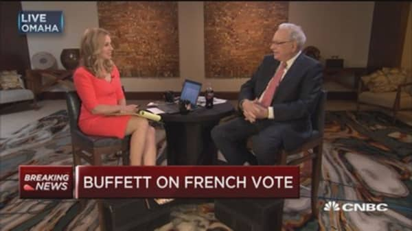 Buffett: I don't put too much weight in any given election