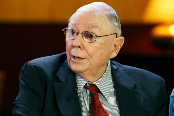 Charlie Munger We Should Go To A Single Payer Health Care