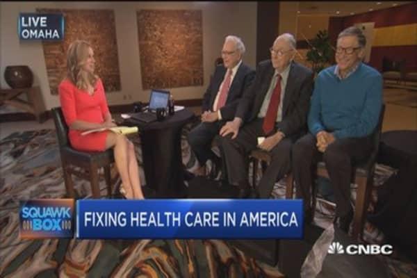 Buffett: Health care bill huge tax cut for the rich