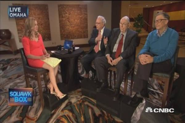 Buffett: 'Unlimited' resources of our friendship