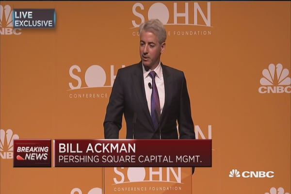 Ackman: One of the most attractive times to invest