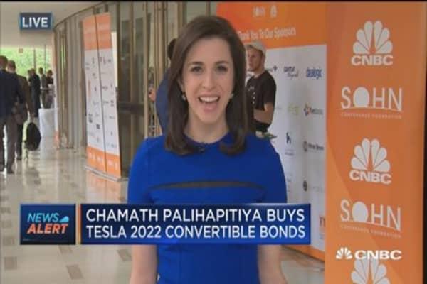 Chamath Palihapitiya buys Tesla 2022 convertible bonds