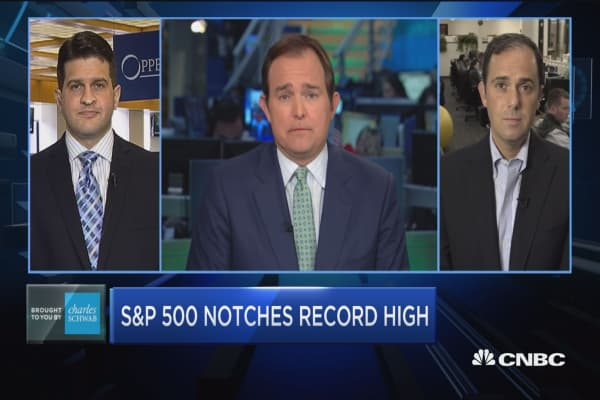 Trading Nation: S&P 500 notches record high