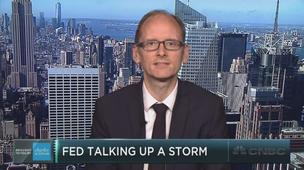 The Fed is talking up a storm