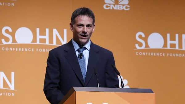 David Einhorn speaking at the 22nd Annual Sohn Investment Conference on May 8, 2017.