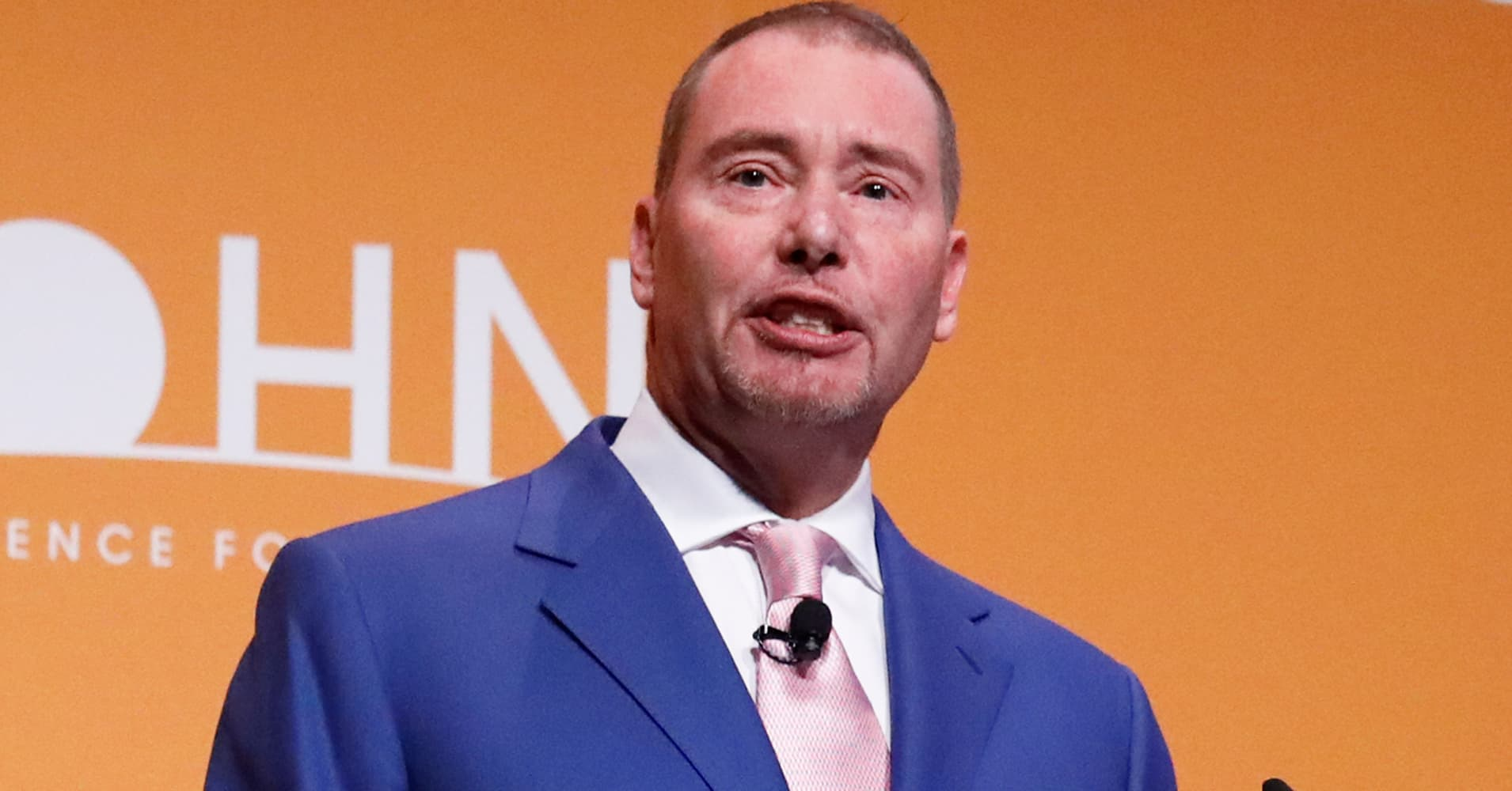 Gundlach says he's long energy stocks, short Facebook at Sohn Conference