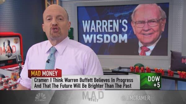 Cramer's takeaways from Warren Buffett's Google mistake