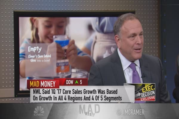 Newell Brands CEO on secret behind blowout quarter