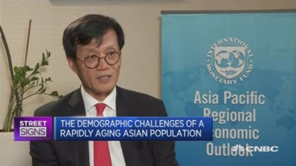 Asia needs to prepare for aging population: IMF