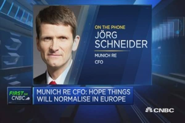 Munich Re CFO: We are on track, not ahead of it