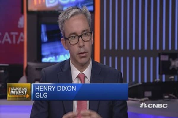 GLG's Dixon: Can buy Europe at near record valuation discount