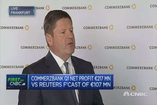 Still focussed on customer base in the UK: Commerzbank CFO