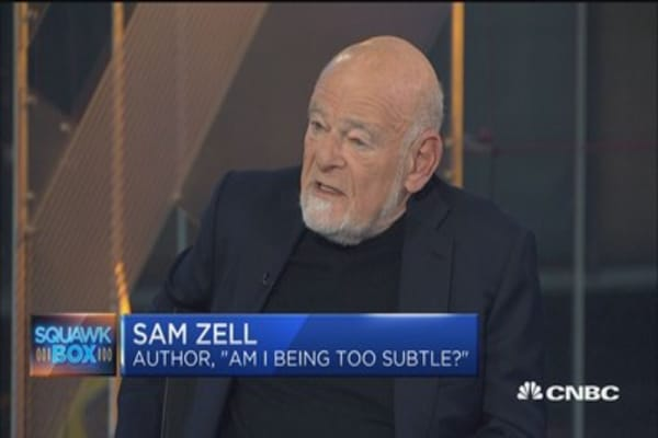 Sam Zell: More 'enthusiastic' today than in October