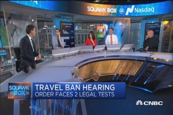 Toughen refugee vetting program, don't implement 'travel ban': David Miliband