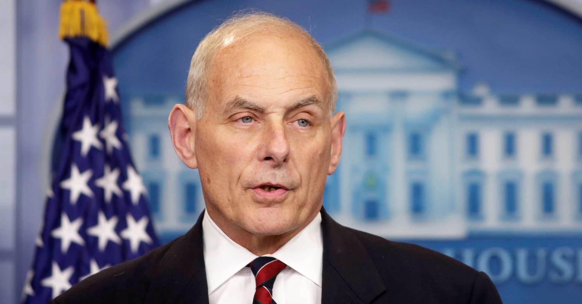 meet john f. kelly, donald trump's new white house chief of staff