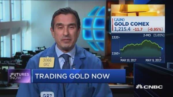 Trader says it's time to sell gold