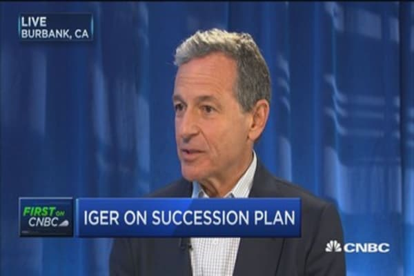Not spending time on what to do next: Disney CEO