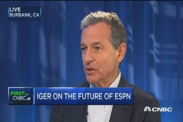 Full interview with Disney CEO Bob Iger