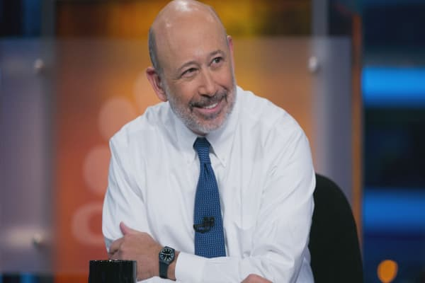The markets are too calm for Goldman Sachs CEO Lloyd Blankfein