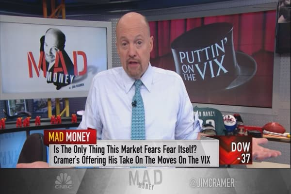 Cramer unveils the real reason the market's fear index is so low