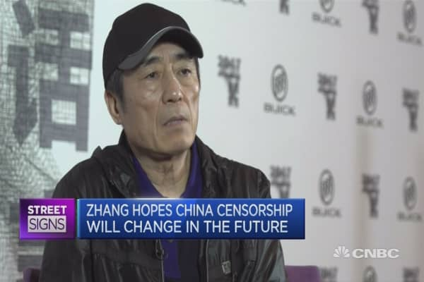 OBOR will affect movies too: Zhang Yimou