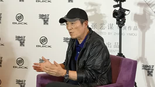 Chinese filmmaker Zhang Yimou speaks with CNBC.