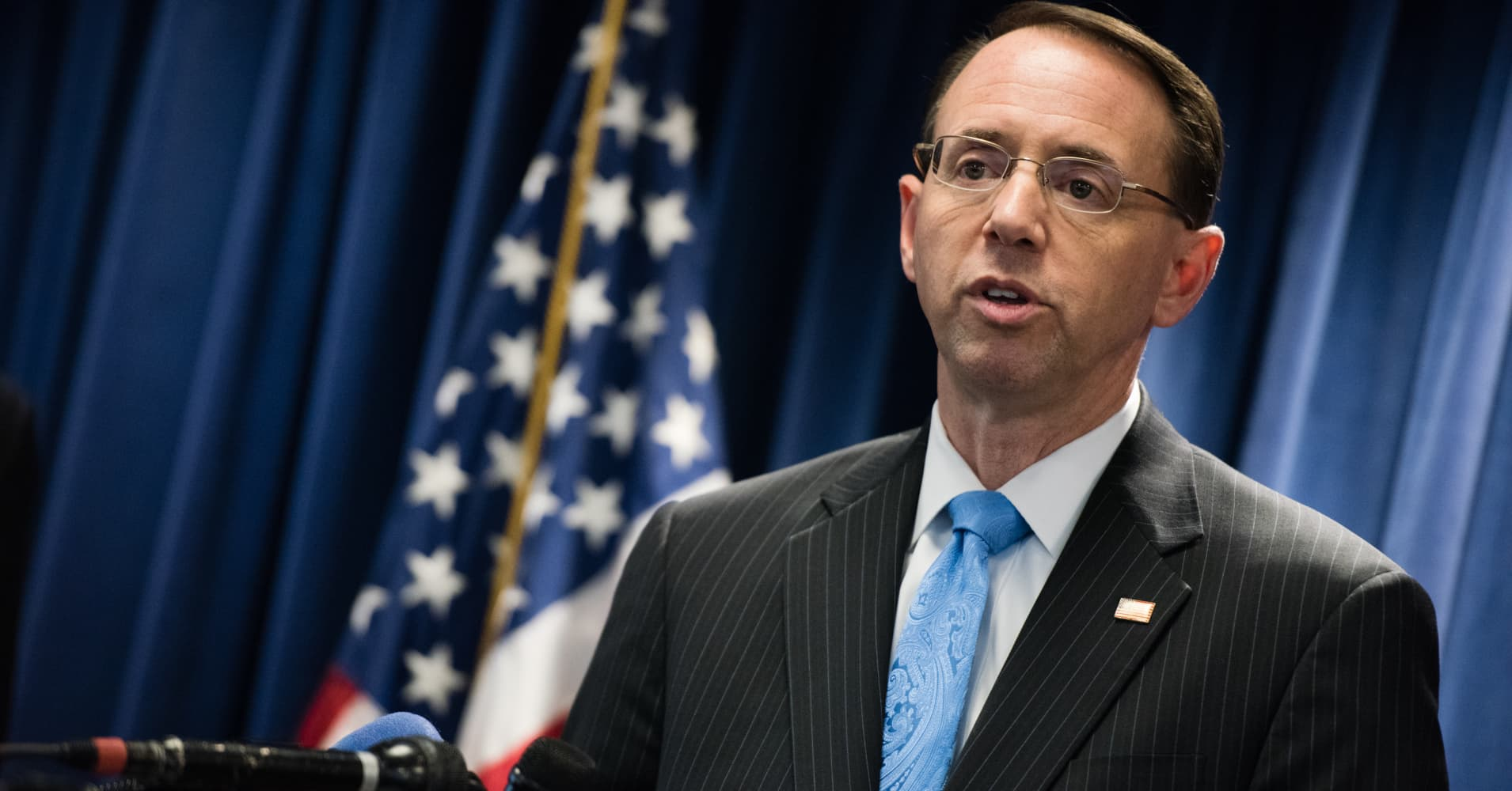 Deputy Attorney General Rod Rosenstein Recommendation Letter