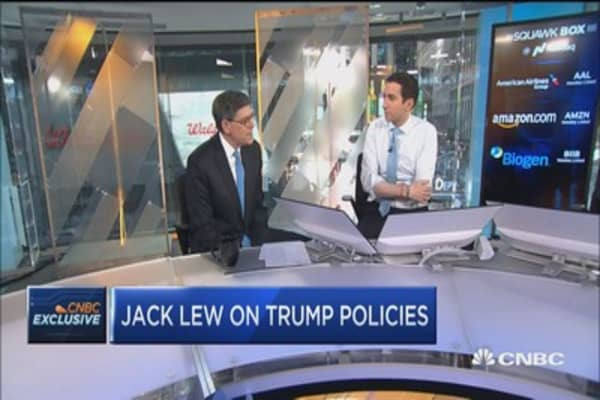 Jack Lew: Health care bill is 'reverse Robin Hood'