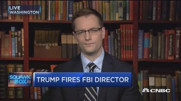 Comey firing 'incredibly frightening': Robby Mook
