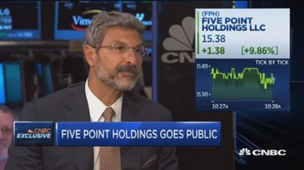 Five Point Holdings goes public