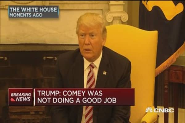 Trump: Comey was not doing a good job