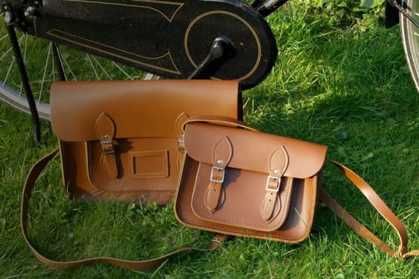 The very first satchels The Cambridge Satchel Company made.