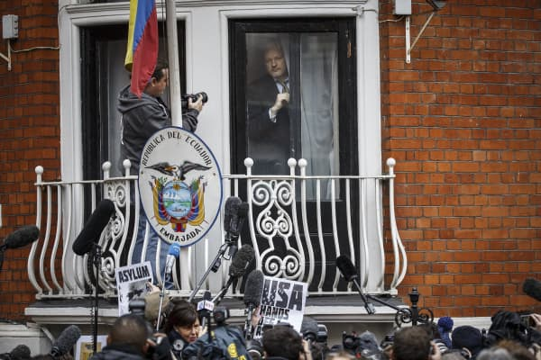 Wikileaks founder Julian Assange has claimed asylum in Ecuador's London embassy since 2012 to avoid extradition to Sweden on accusations of rape.